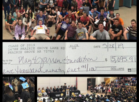 Prairie Grove High School Class of 2019 - Making A Difference for Others