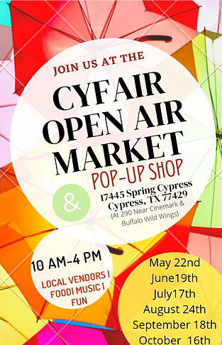 Official Annual Flyer - CyFair Open Air
