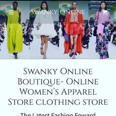 Swanky Online Boutique
