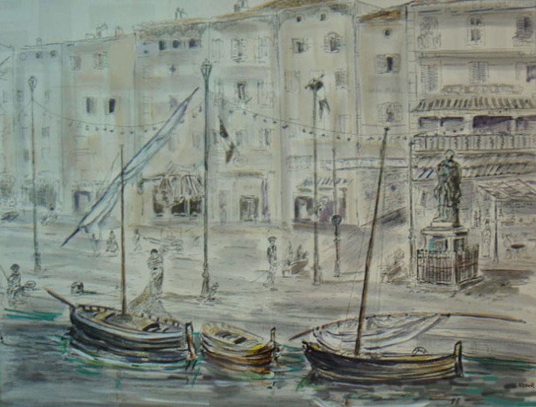 Quai de Saint-Tropez