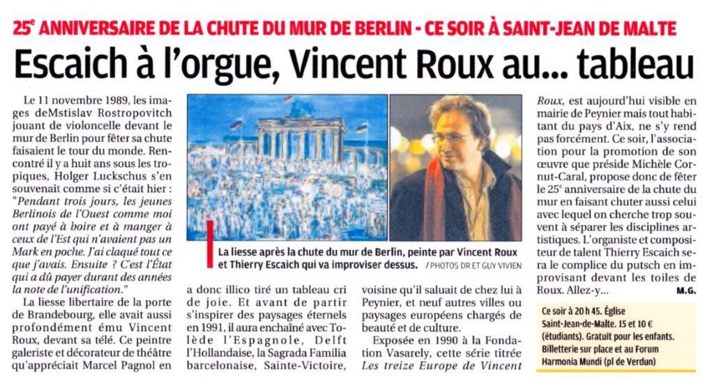 La Provence, octobre 2014