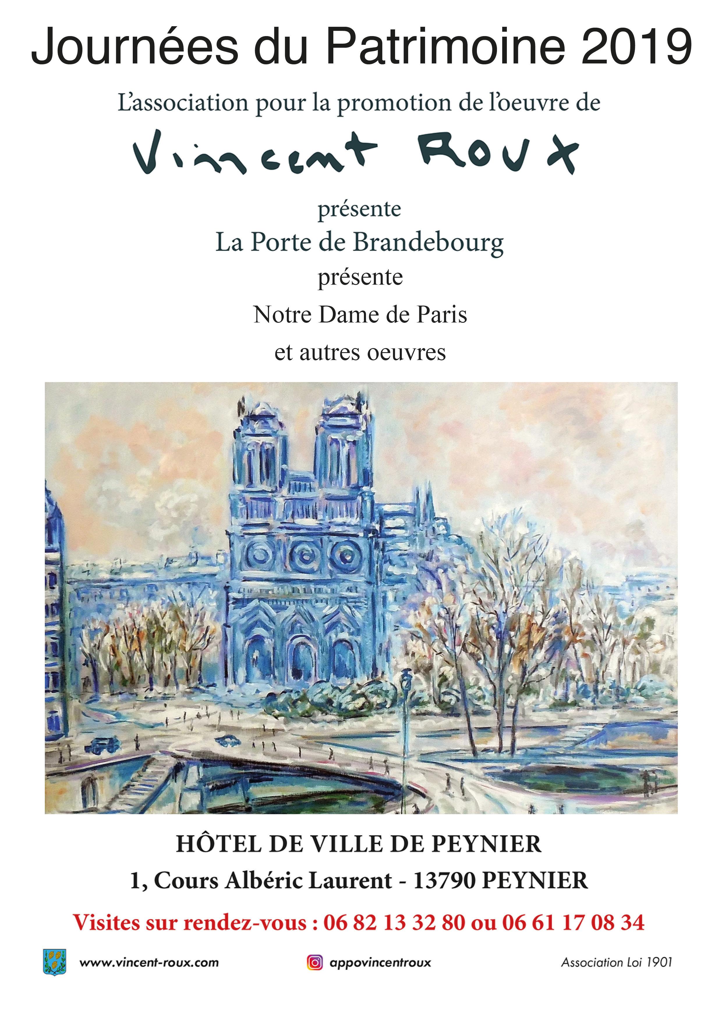 Affiche Notre dame de Paris