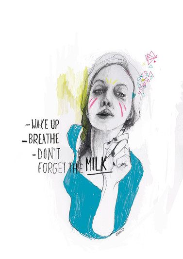 Dont forget the milk