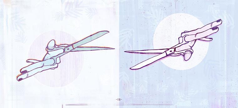 Cut - off full image