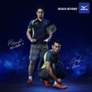 Mizuno Signs a Brand Ambassador Agreement with Badminton Players  Hendra Setiawan and Mohammad Ahsan