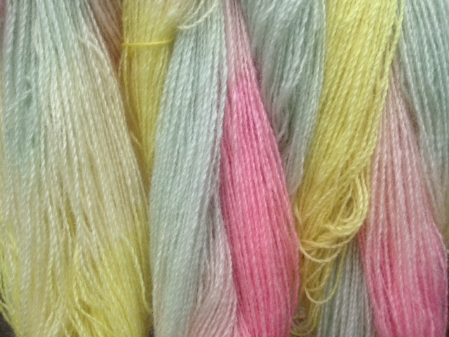 Leola's dying with natural dyes