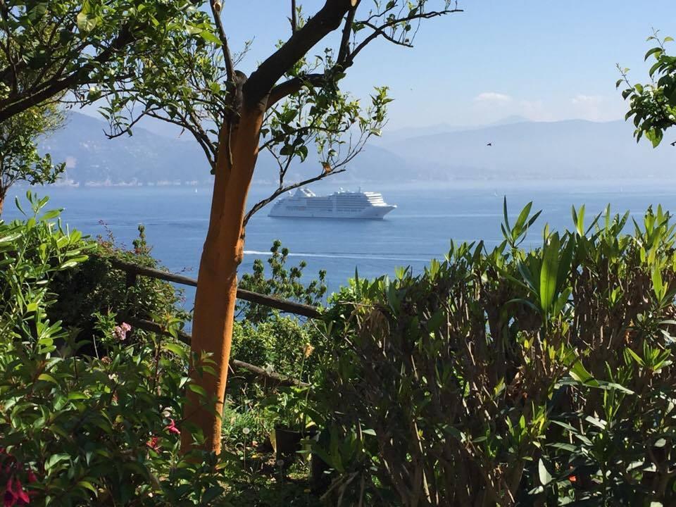 Silver Muse off Portifino