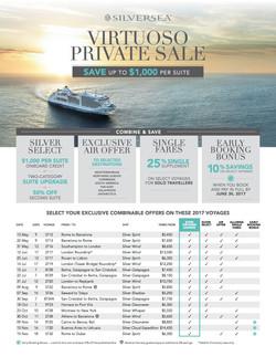 Exclusive Silversea Specials 1