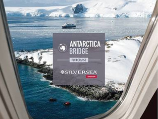 "Silversea Debuts ""Antarctica Bridge"" Air-Sea Cruise on Silver Explorer"