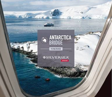 "Silversea Debuts ""Antarctica Bridge"" Air-Sea Cruise on Silver Explorer"