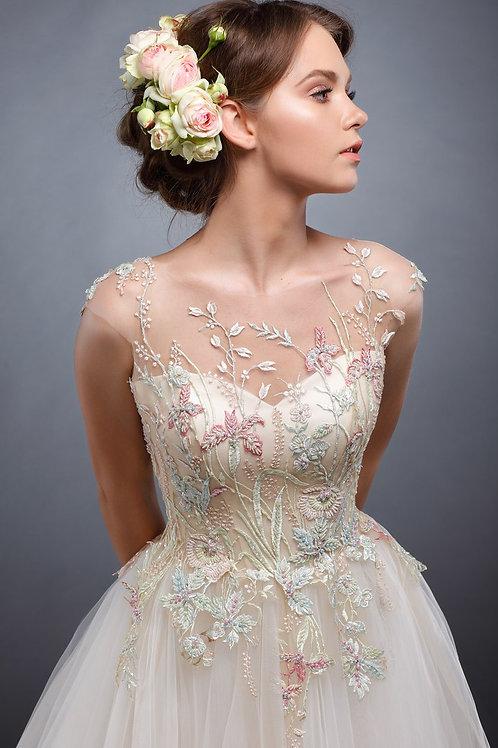 Свадебное платье Акварель