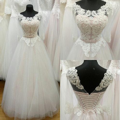 Свадебное платье Хрусталь Юбка БЛЕСК