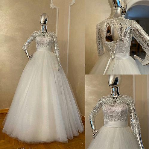 Свадебное платье Метиола ЮБКА БЛЕСК