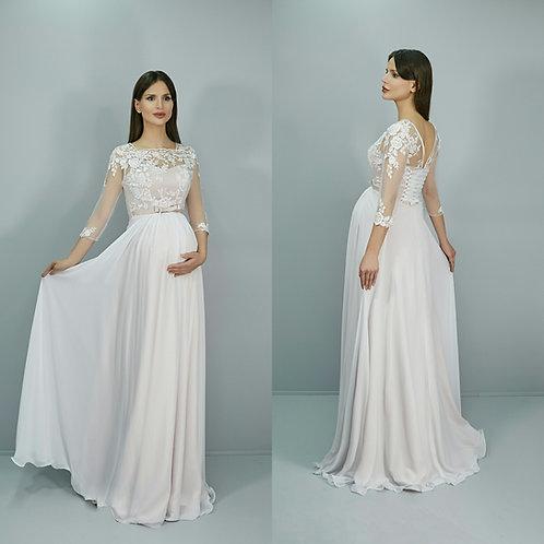 Свадебное платье Дарья мультишифон