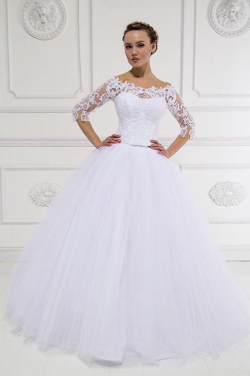 Свадебное платье Алинка 3 пачка