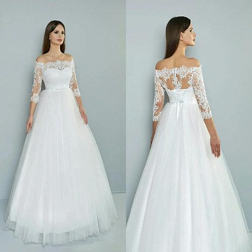 Свадебное платье Арина евросетка