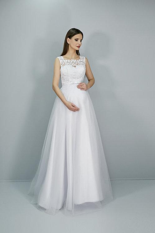 Свадебное платье Дана фатин