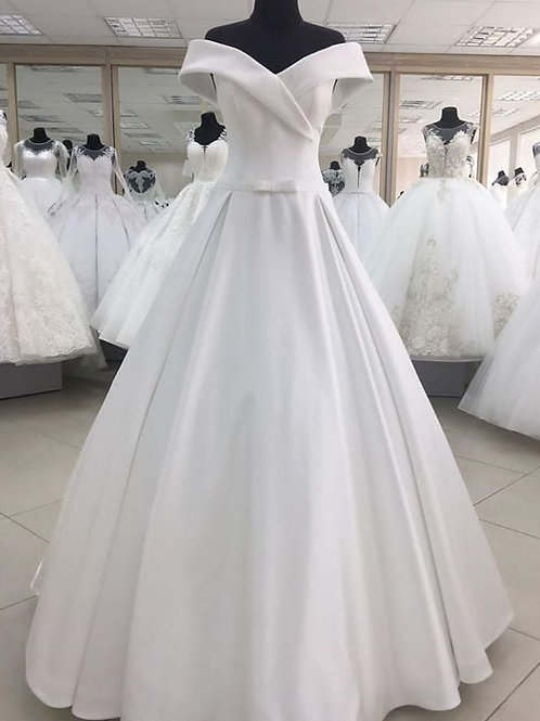 Свадебное платье Камилла атлас