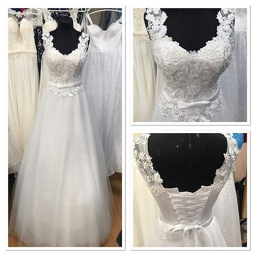 Свадебное платье Августина 7 евросетка