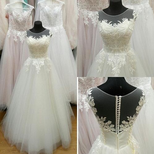 Свадебное платье Амелия майка ЮБКА БЛЕСК