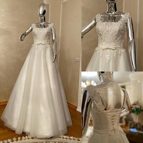 Свадебное платье Августина 2 евросетка