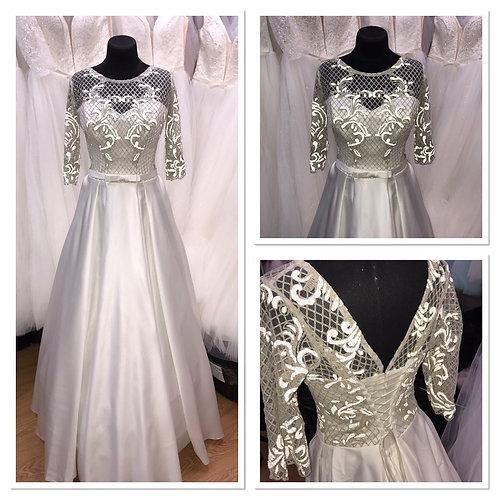 Свадебное платье Сабина атлас