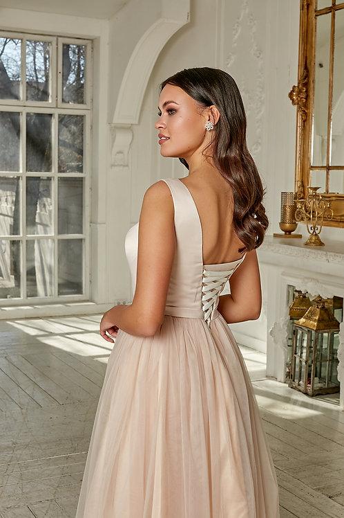 Свадебное платье Миди Фатин