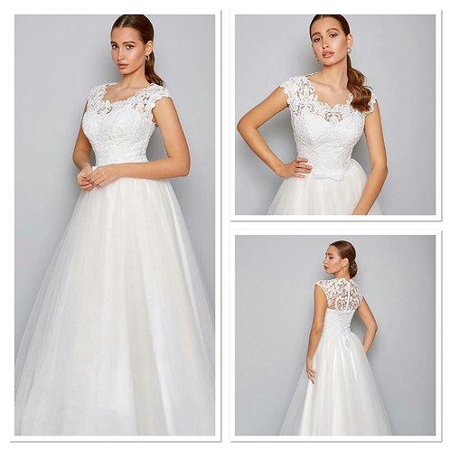 Свадебное платье  Мадонна  евросетка