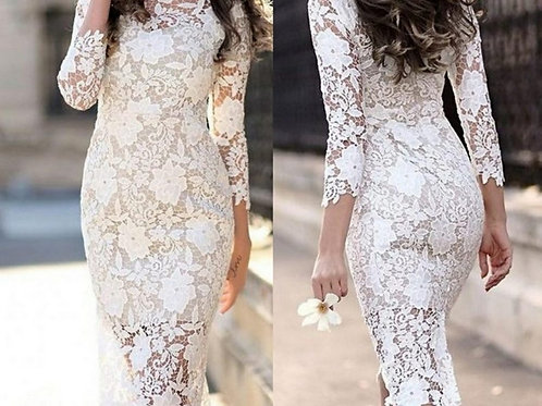 Свадебное платье Оля футляр