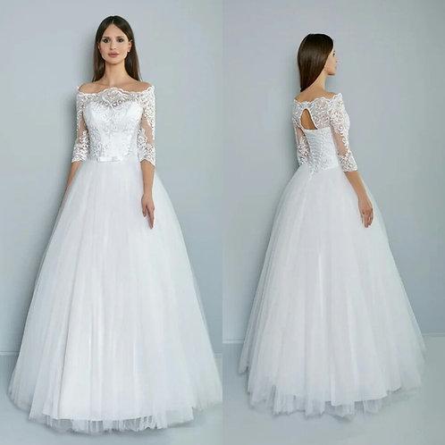 Свадебное платье золушка