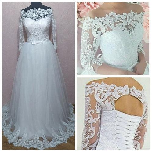 Свадебное платье Алинка дрессировка