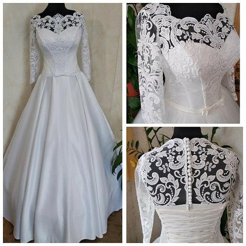 Свадебное платье Белла атлас