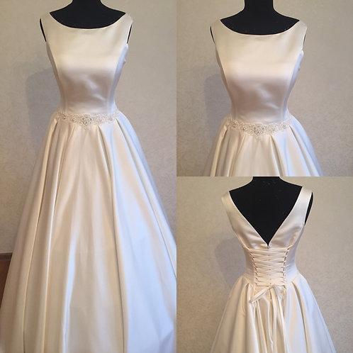 Свадебное платье Виолетта атлас