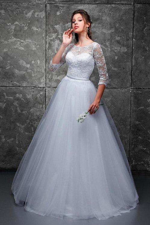 Свадебное платье Есения фатин ОХ