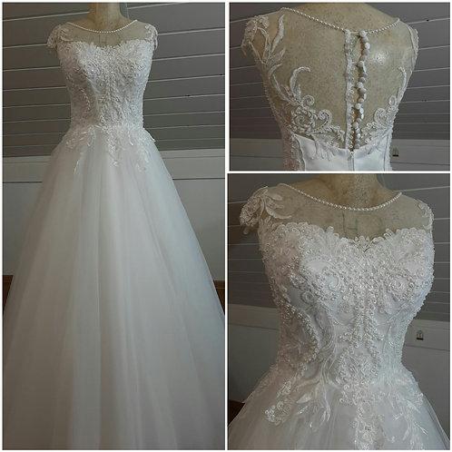 Свадебное платье Тодес майка юбка блеск