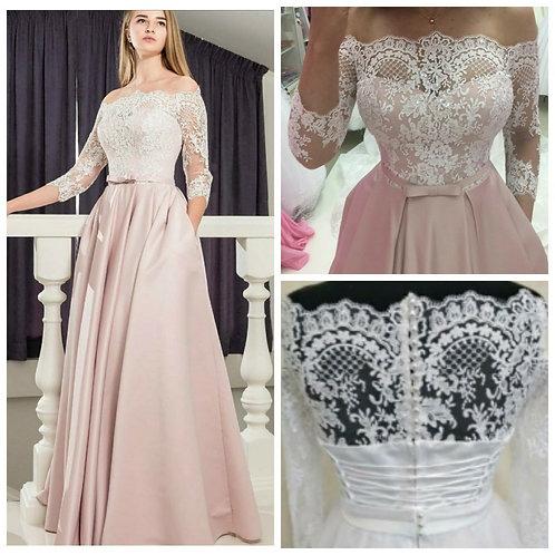 Свадебное платье Арина атлас