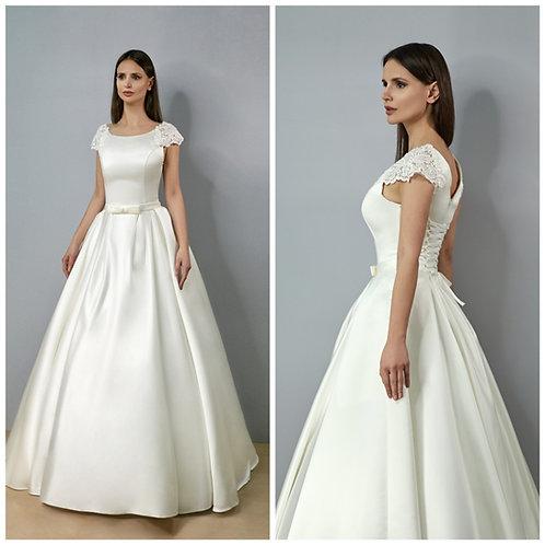 Свадебное платье Елена Атлас