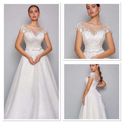 Свадебное платье Августина 6 мультишифон