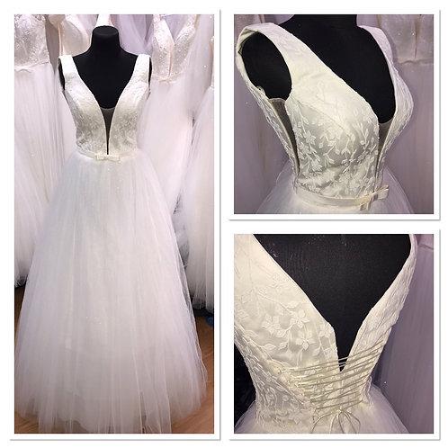 Свадебное платье Мия юбка блеск