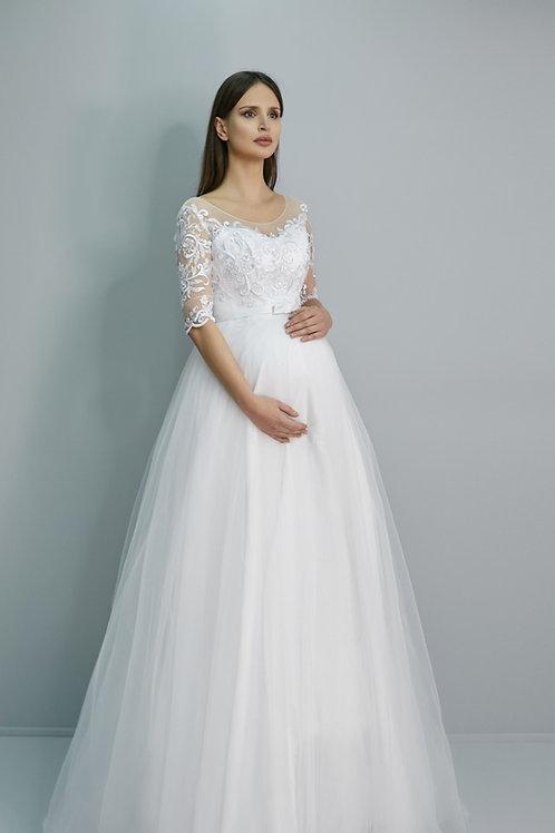 Свадебное платье Лаванда Сатин