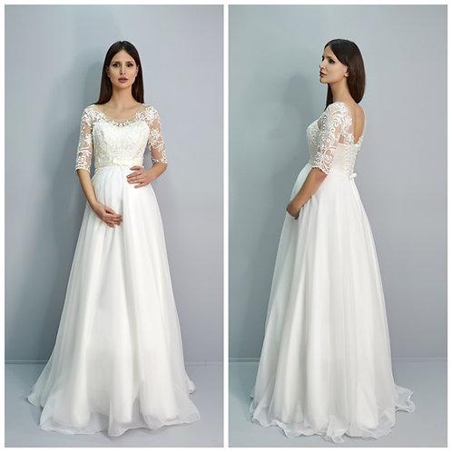 Свадебное платье Лаванда шифон