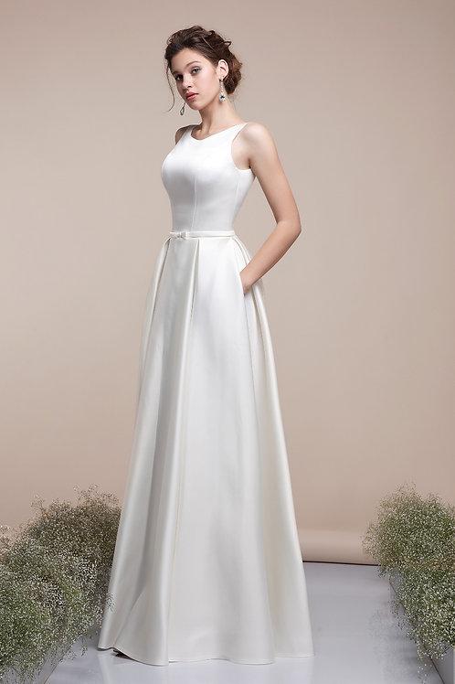 Свадебное платье Шанель