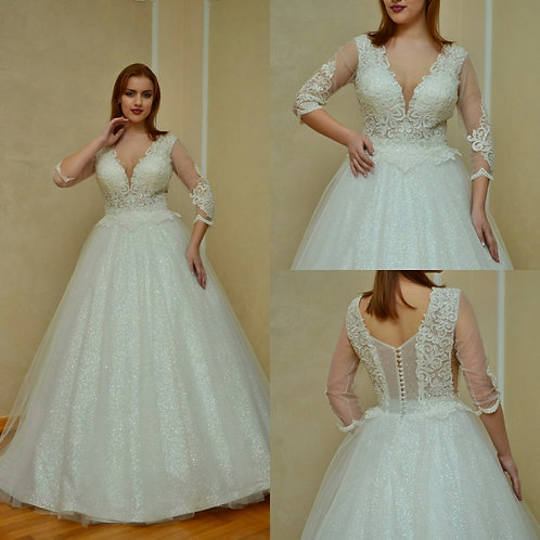 Свадебное платье Гортензия блеск