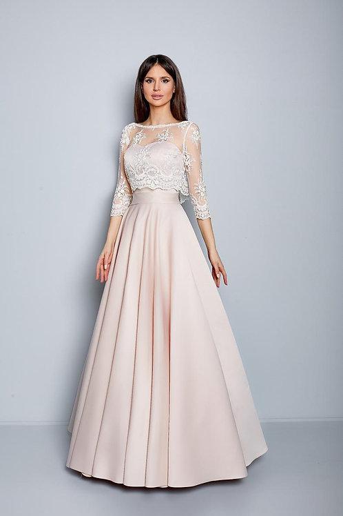 Свадебное платье Анжелика атлас