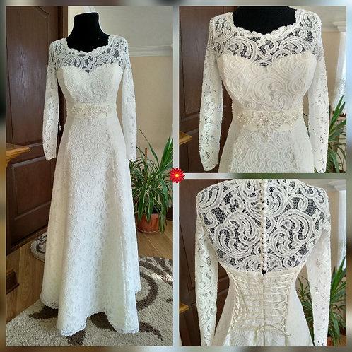 Свадебное платье Сонета (3д кружево)