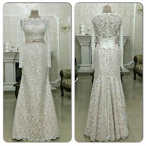 Свадебное платье Рыбка Инесса 3Д