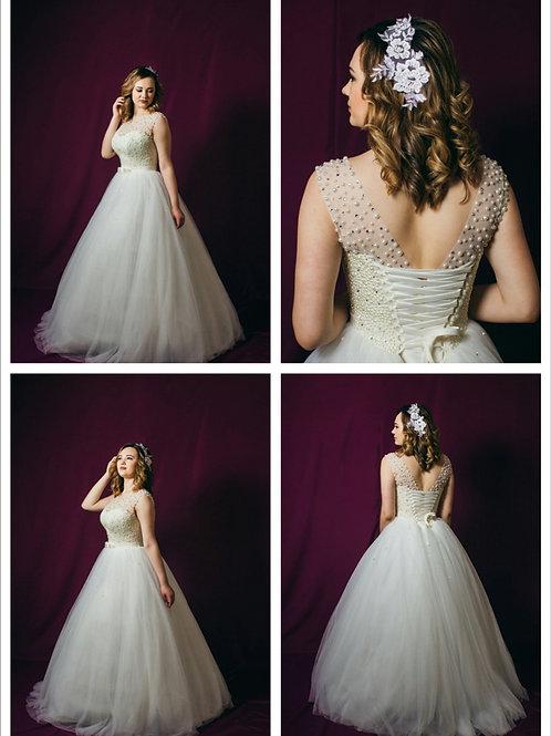 Свадебное платье Агния маечка