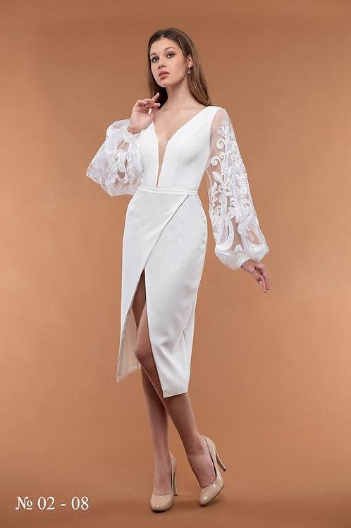 Свадебное платье 0208