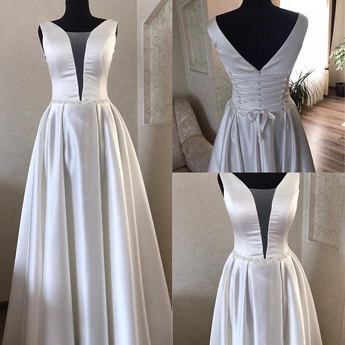 Свадебное платье Наоми Атлас