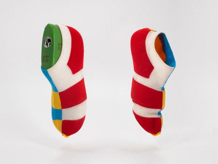 Kid expandable shoe